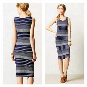 Anthropologie Maeve Edisto Stripe Tank Dress S